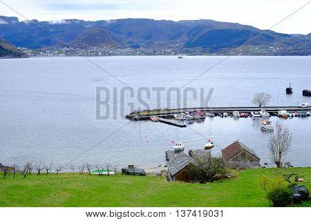 Port In Scandinavia