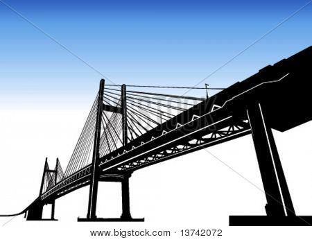 vector de puente