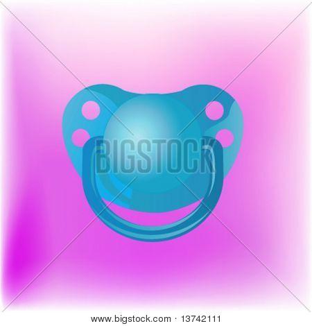 baby nipple vector