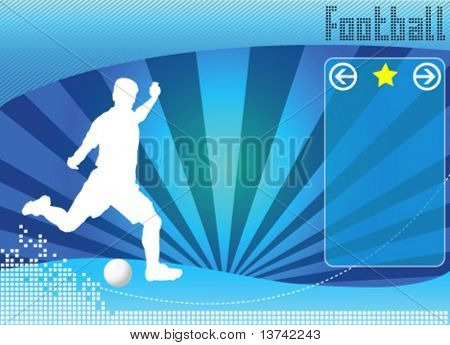 soccer concept background vector