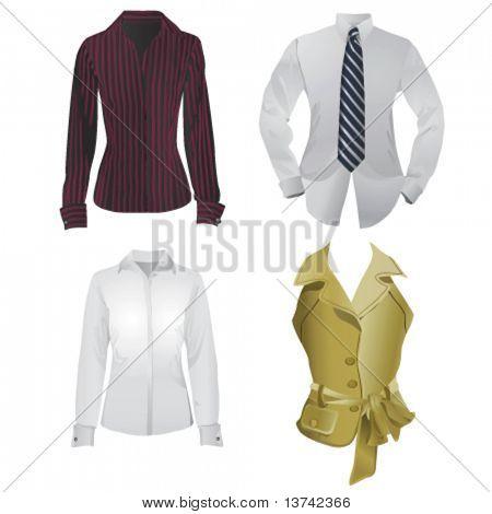 vetor de moda negócios