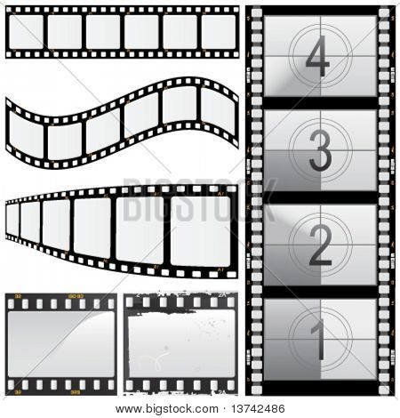 conjunto de vectores de la película