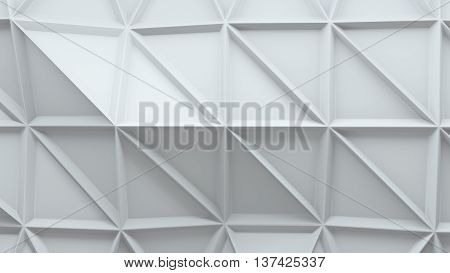 abstract 3d background with repeating triangle pattern