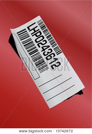 bar-code label vector