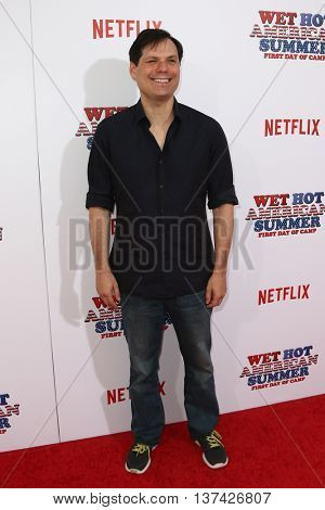 NEW YORK-JUL 22: Actor Michael Ian Black attends the 'Wet Hot American Summer: First Day of Camp' Series Premiere at SVA Theater on July 22, 2015 in New York City.