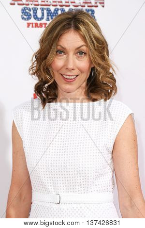 NEW YORK-JUL 22: Actress Nina Hellman attends the 'Wet Hot American Summer: First Day of Camp' Series Premiere at SVA Theater on July 22, 2015 in New York City.
