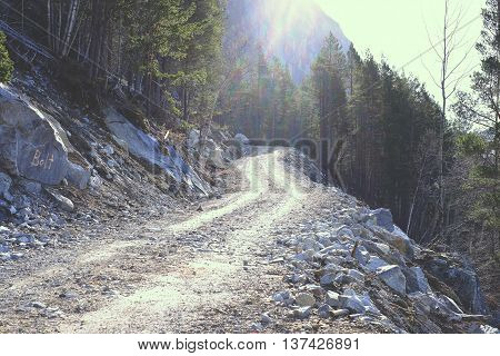The Trail Up The Mountain
