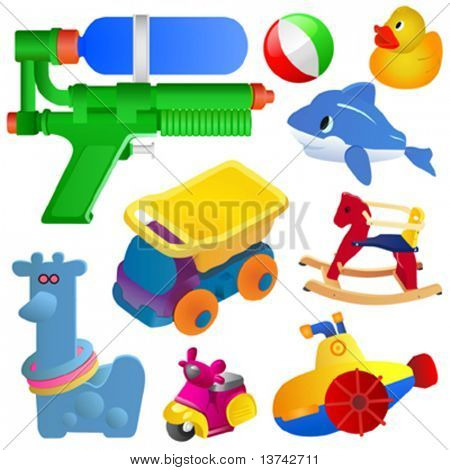 toy great set vector