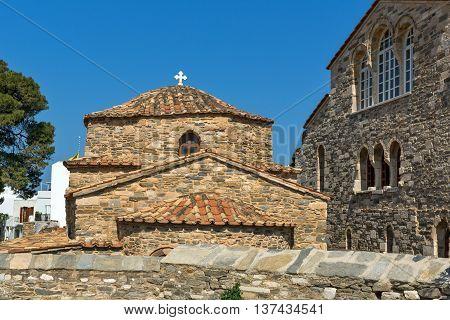 Church of Panagia Ekatontapiliani in Parikia, Paros island, Cyclades, Greece