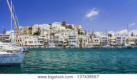 Greek holidays- pictorial island Naxos, Cyclades