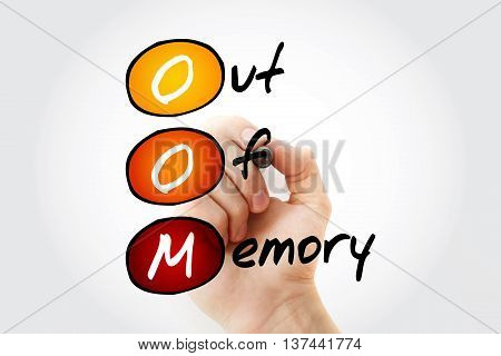 Oom Out Of Memory