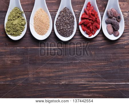 Godji Berries, Chia Seeds And Other