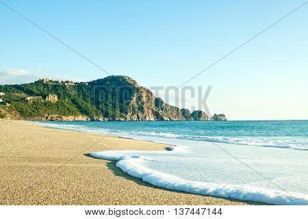 Cleopatra Beach (Kleopatra Beach) in Alanya Turkey