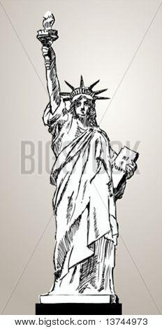 liberty status illustration