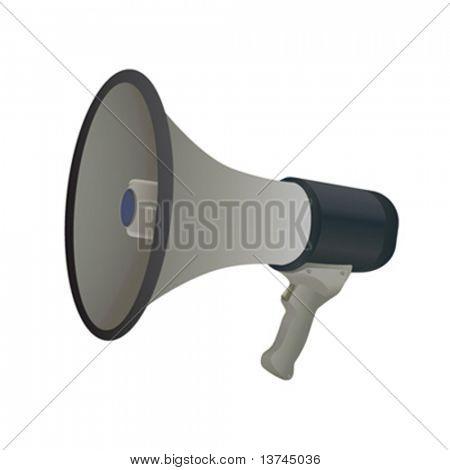 bullhorn vector