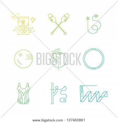 Rhythmic Gymnastics Icons