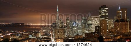 San Francisco - Night Panorama