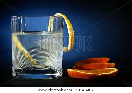 Vodka Pleasure, Food Background