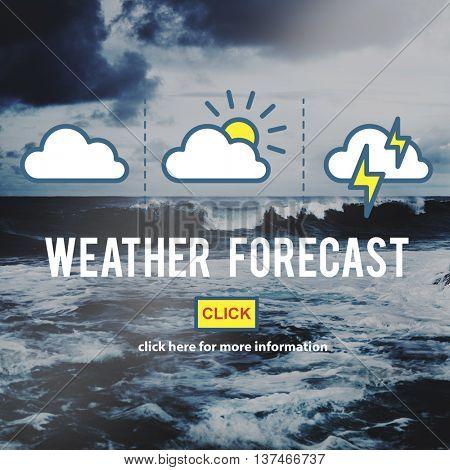 Weather Forecast Measure Prediction Temperature Concept