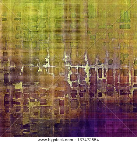 Digitally designed background or texture for retro style frame. With different color patterns: yellow (beige); brown; green; blue; red (orange); purple (violet)
