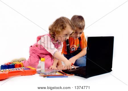 Children With The Computer