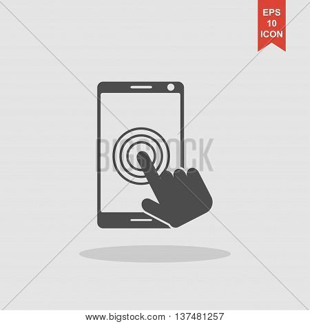 Touch Screen Smartphone Icon