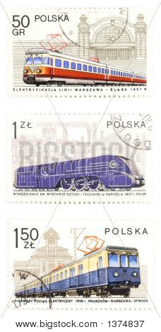 Railway Collection - Post Stamps