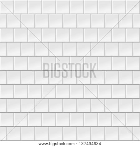 Wall Tiles. Seamless Vector Illustration Of Wall Tiles