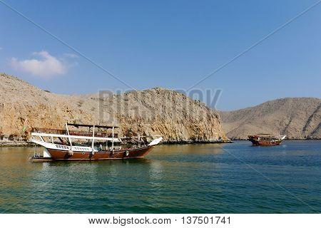 Pic in Musandam cruise day, Dibba OMAN.