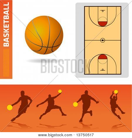 basketball design elements