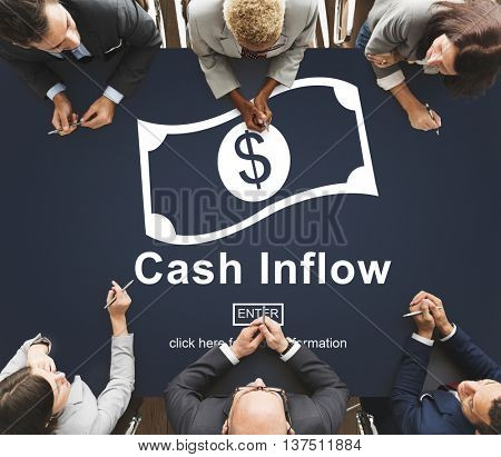 Cash Flow Business Money Financial Concept