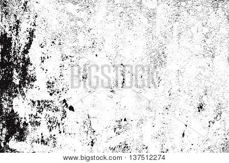 Distress Worn overlay grunge texture for your design. EPS10 vector.