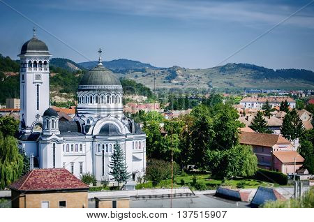 Photo of the Sighisoara in RomaniaTransylvania - September 2014