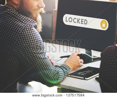 Locked Accessible Permission Verification Security Concept