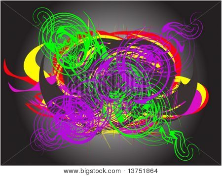 A abstract vector background