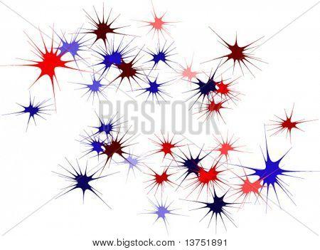 Some splatters in vector format