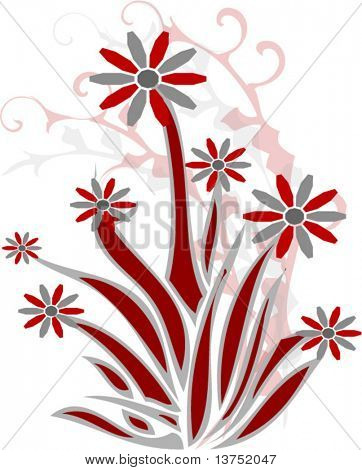 Floral Illustration for your designs.