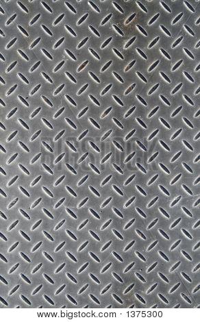 Antecedentes de la cubierta del piso de metal.