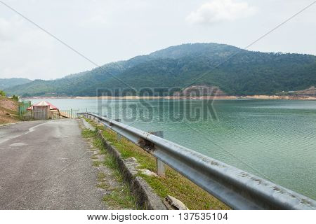 The Largest Dam In Penang, Malaysia.