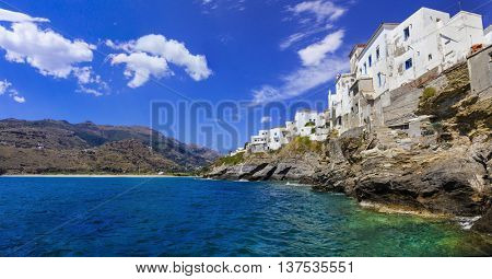 Traditional Greek islands - Andros, Cyclades
