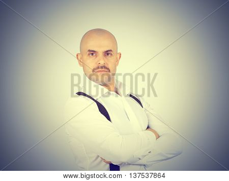 Buisnessman With Crossed Arms.