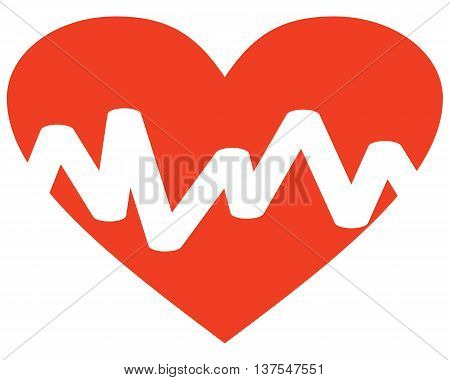 Heart Pulse Icon pulse trace computer icon symbol heart shape