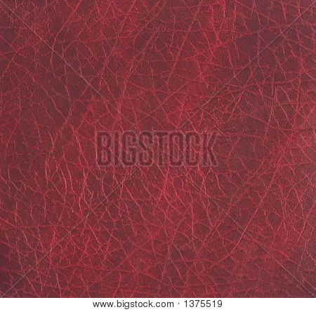Rough Maroon Leather Texture