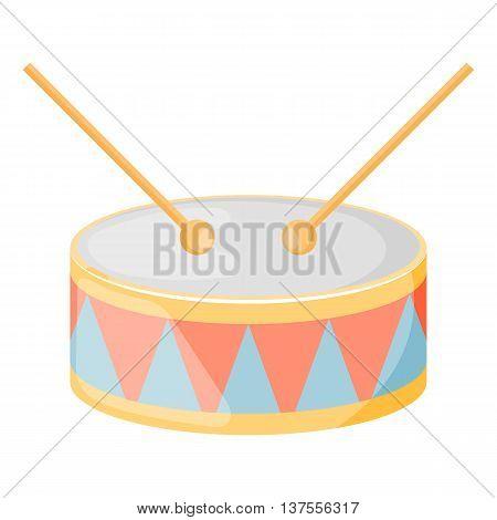 Drum Colorful Icon
