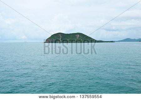 Thailand Koh Phangan (Phangan Island) view of the coast of the island