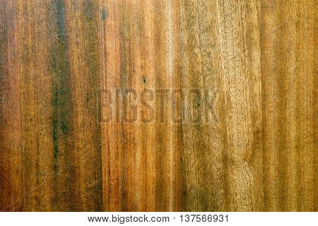 Dark wood chopping board texture with character marks from usage over time