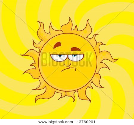 Lowering Sun Shining