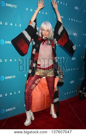 LOS ANGELES - JUL 7:  Kate Crash at the Equals LA Premiere at the ArcLight Hollywood on July 7, 2016 in Los Angeles, CA