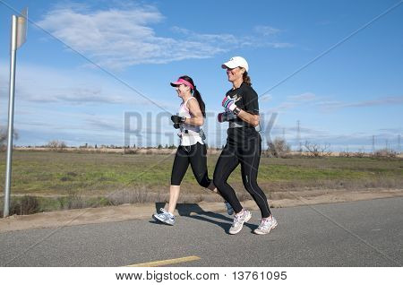 Two Women Runners
