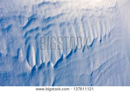 snow surface - abstract natural background